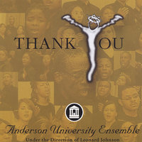 Thank You — Anderson University Ensemble