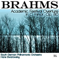 Brahms: Academic Festival Overture in C minor, Op. 80 — South German Philharmonic Orchestra & Hans Swarowsky