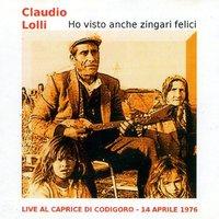 Claudio Lolli - Un Uomo In Crisi: Canzoni Di Morte. Canzoni Di Vita