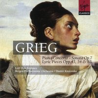 Grieg - Piano Works — Leif Ove Andsnes/Bergen Philharmonic Orchestra/Dmitri Kitayenko, Эдвард Григ