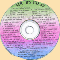 CD #3 The hottest new r&b, swing, and soul innovation. — Mr. B