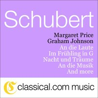 Franz Schubert, An Die Laute, D. 905 / Op. 81 No. 2 (To The Lute) — Graham Johnson & Margaret Price