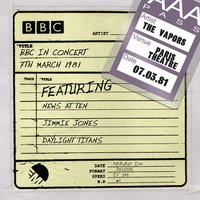 BBC In Concert (7th March 1981) — The Vapors