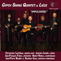 Impulswing — Gypsy Swing Quintet de Liège, Christophe Lartilleux