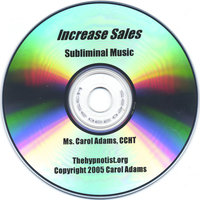 Increase Sales With Subliminal Music — Carol Adams CCHT