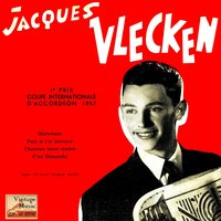 "Vintage French Song Nº 56 - EPs Collectors ""Couple International Accordion"" ""Paris Je T'ai Retrouvé"" — Jacques Vlecken"