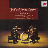 Beethoven: String Quartets No. 13, Op. 130 with Grosse Fugue; No. 16, Op. 135 — Juilliard String Quartet, Isidore Cohen, Raphael Hillyer, Robert Mann, Claus Adam, Joel Krosnick