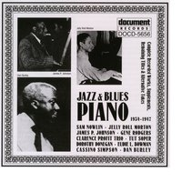 Jazz & Blues Piano (1934-1947) — Various Artists - Document Records