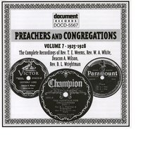 Preachers And Congregations Vol. 7 (1925-1928) — Various Artists - Document Records