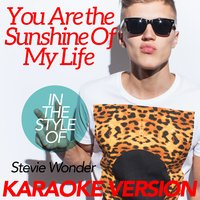You Are the Sunshine of My Life (In the Style of Stevie Wonder) - Single — Ameritz Karaoke Classics