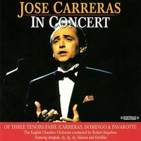 In Concert — José Carreras, The English Chamber Orchestra, Robert Stapleton
