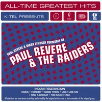 All-Time Greatest Hits — Paul Revere & Mark Lindsay formerly of Paul Revere & The Raiders