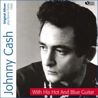 With His Hot and Blue Guitar — Johnny Cash