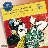 Rossini: Overtures; Bizet: Carmen-Suite — Ferenc Fricsay, Ferenc Fricsay [Conductor]