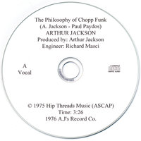 The Philosophy of Chopp Funk (with vocals) — Arthur Jackson