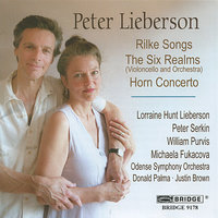 The Music of Peter Lieberson, Vol. 1 — William Purvis, Peter Serkin, Justin Brown, Donald Palma, Odense Symphony Orchestra, Michaela Fukacova