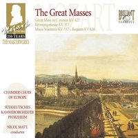 Mozart: The Great Masses — Chamber Choir of Europe, Nicol Matt & Südwestdeutsches Kammerorchester Pforzheim, Вольфганг Амадей Моцарт
