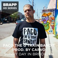 Sunny Day in Brooklyn — Paco the G Train Bandit, Carvo
