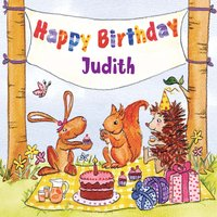Happy Birthday Judith — The Birthday Bunch