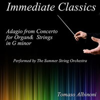 Albinoni: Concerto for Organ and Strings in G Minor — The Summer String Orchestra, Томазо Альбинони