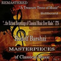 Rudolf Barshai - Masterpieces of Classical Music Remastered, Vol. 3 — Rudolf Barshai