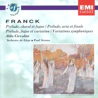 Franck - Oeuvres Pour Piano — Aldo Ciccolini, Сезар Франк