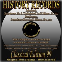 History Records - Classical Edition 99 — Франц Шуберт, Людвиг ван Бетховен, Radio Symphony Orchestra Leipzig, Hermann Abendroth