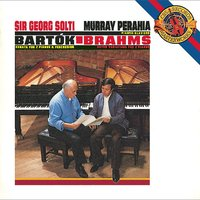 Bartók:  Sonata for Two Pianos and Percussion & Brahms:  Variations on a Theme by Haydn for Two Pianos, Op. 56b — David Corkhill, Evelyn Glennie, Murray Perahia, Georg Solti