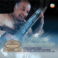 A Night to Remember — Ustad Vilayat Khan