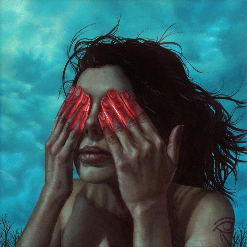 Странные картинки арт закрыты глаза