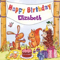 Happy Birthday Elizabeth — The Birthday Bunch