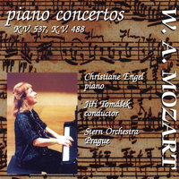 Mozart Piano Concertos: Piano Concerto No. 26 in D major, KV 537; Piano Concerto No. 23 in A major, KV 488 — Jiri Tomasek, Christiane Engel & The Stern Orchestra