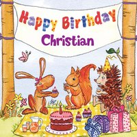 Happy Birthday Christian — The Birthday Bunch