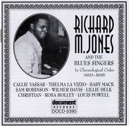 Richard M. Jones & The Blues Singers 1923-1938 — сборник