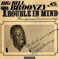 Trouble In Mind - Previously Unissued Live Concert Recordings — Big Bill Broonzy