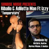 Temperature (feat. Izzy) — Riballo, Adilette Man