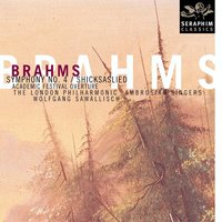 Brahms: Symphony No. 4/Schicksaslied — London Philharmonic Orchestra, Иоганнес Брамс, Wolfgang Sawallisch, Wolfgand Sawallisch/London Philharmonic