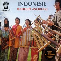 Indonesie : Le groupe Angklung — Le groupe Angklung