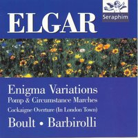 Enigma Variations, Marches, Cockagne — Sir Adrian Boult/Sir John Barbirolli, Эдуард Элгар