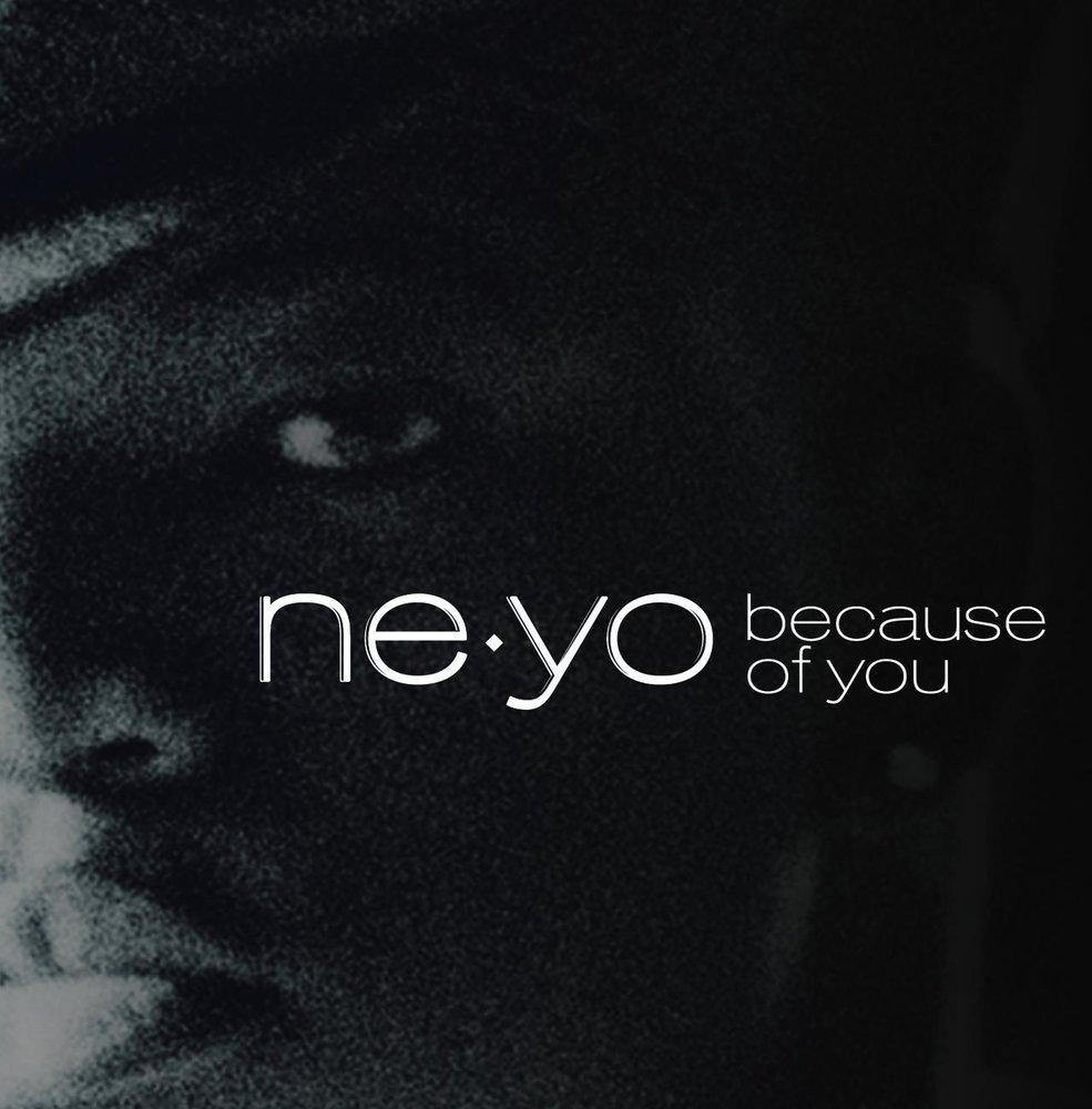 ne yo because of you lyrics - 985×1000