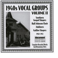 1940s Vocal Groups Vol. 2 (1940-1945) — Various Artists - Document Records
