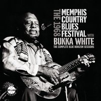 The 1968 Memphis Country Blues Festival With Bukka White — сборник