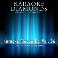 Karaoke Playbacks, Vol. 86 — Karaoke Diamonds