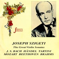 The Great Violin Sonatas — Joseph Szigeti