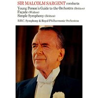 young person 39 s guide to the orchestra bbc symphony orchestra sir malcolm sargent. Black Bedroom Furniture Sets. Home Design Ideas