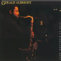 Live At Birdland West — Gerald Albright