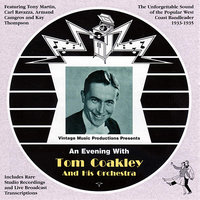 An Evening With (1933-1935) — Tom Coakley And His Orchestra