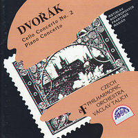 Dvorak: Cello Concerto No. 2, Piano Concerto — Мстислав Ростропович, Czech Philharmonic Orchestra, František Maxián, Антонин Дворжак