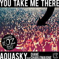 You Take Me There (feat. Diane Charlemagne) - Wizards Of OZ Mixes — Aquasky