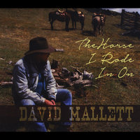 The Horse I Rode in On — DAVID MALLETT